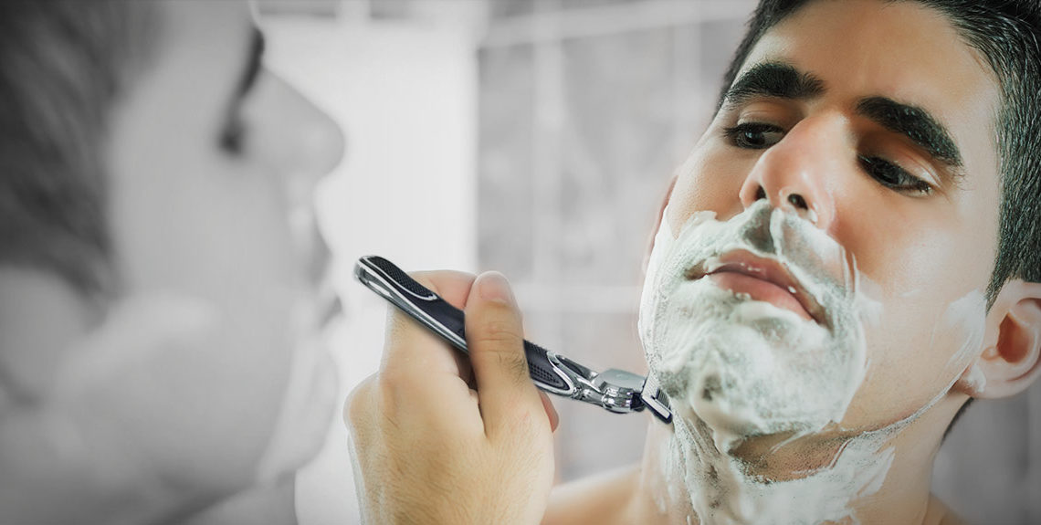 Shave your way out of a double-chin